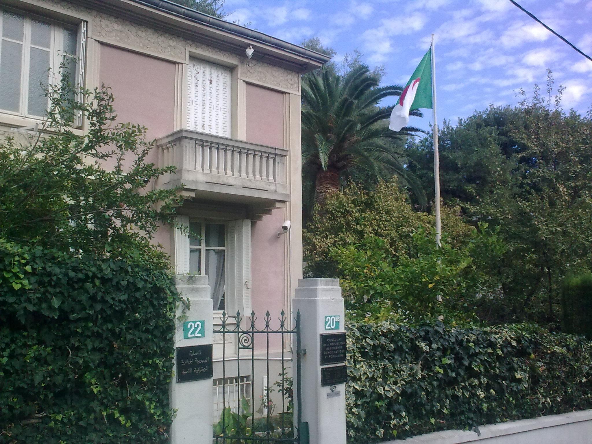 Carte Consulaire Algerie Lille.Consulat D Algerie A Nice Euro Algerie News Reflexions