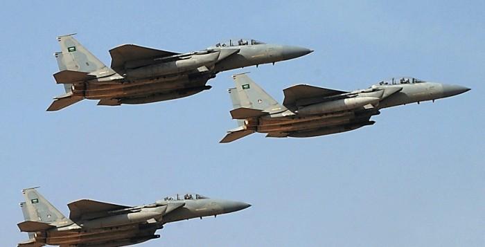 Les chasseurs saoudiens se sont montrés particulièrement menaçant envers l'équipage d'Air Algérie. Photo: D.R