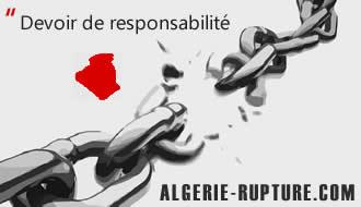 Algérie Rupture